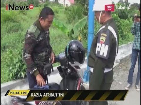Belasan Warga Sipil Mendapat Peringatan Keras dari PM Karena Kenakan Atribut TNI