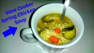 "Spring Chicken Soup ""september Crock Pot Series"""