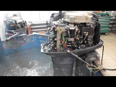 Мотор лодочный Yamaha 50HETO, б/у 1995 г.в.