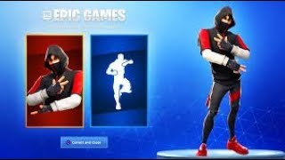 I get the Fortnite Battle Royale Free Ikonik Skin