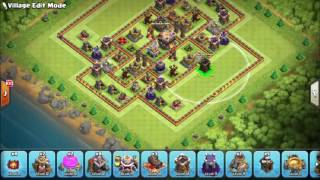 07 'TOWN HALL 11 TH11 TROPHY BASE 2016 WITH BOMB TOWER' October 2016 Update! Clash Of Clans