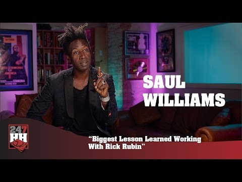 Saul Williams - Biggest Lesson Learned Working With Rick Rubin (247HH Exclusive)