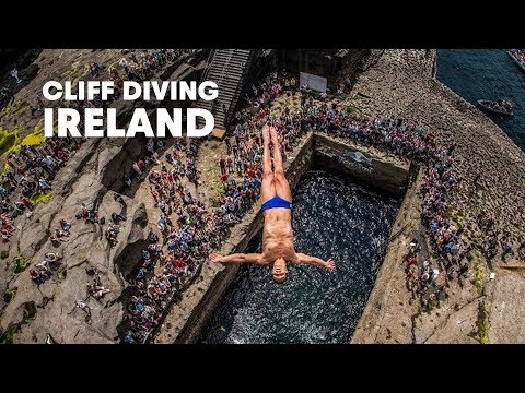 Diving from Irish skies - Red Bull Cliff Diving World Series 2014