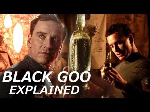Deleted Scene: David Reveals the Mystery of the Black Goo in Alien Covenant