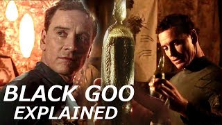 Deleted Scene: David Reveals the Mystery of the Black Goo in Alien Covenant