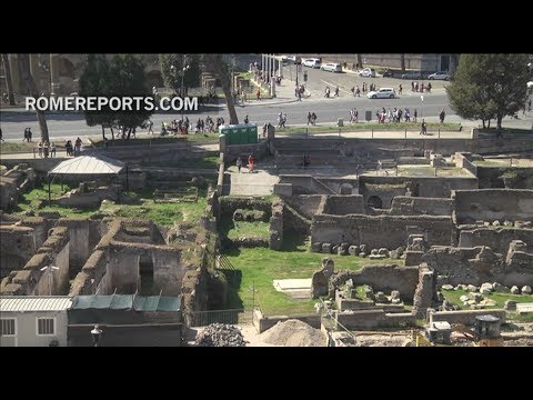 Rome presents results of 30 years of archaeological excavations in Roman Forum