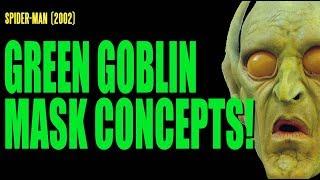 SPIDER-MAN Green Goblin Mask Concept Art ADI BTS