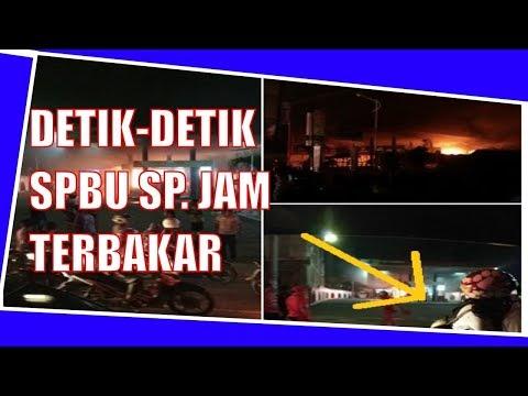 Penyebab  Meledaknya SPBU Simpang muhammad jam Banda Aceh (HD) 2017