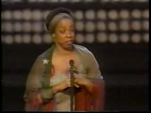 Lynne Thigpen wins 1997 Tony Award for Best Featured Actress in a Play