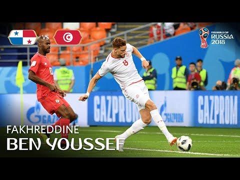 Fakhreddine BEN YOUSSEF Goal - Panama v Tunisia - MATCH 46