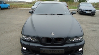 BMW M5 E39 /w Custom Exhaust - Drifts, Burnout and more!