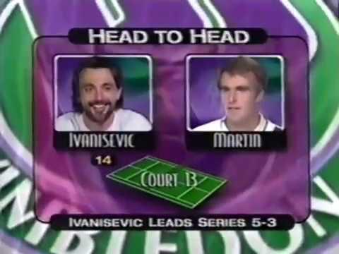 Tennis DAY 8 continued Pete Sampras Venus Williams Goran Ivanisevic
