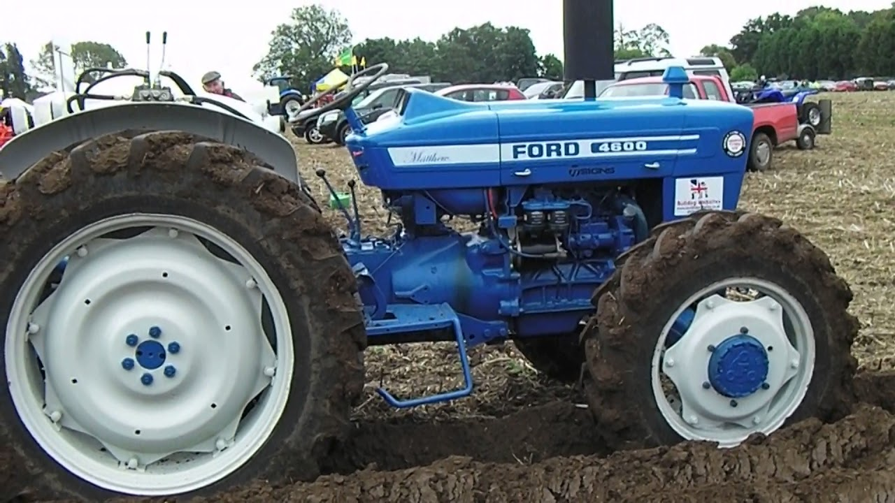 Ford 3 Cyl Diesel : Ford litre cyl diesel tractor with