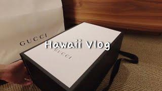 [VLOG] 하와이 특산품 구찌 가방 나도 저렴하게 샀…