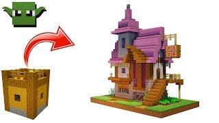 Minecraft Alchemist's House Tutorial (EASY 5X5 BUILDING SYSTEM)