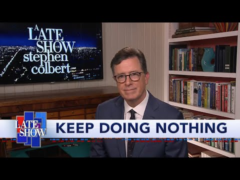 """Stephen Colbert Reveals The Results Of """"Suit Or No Suit"""""""