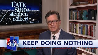 "Stephen Colbert Reveals The Results Of ""Suit Or No Suit"""