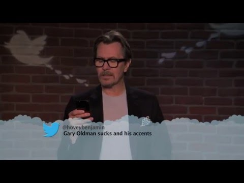 Gary Oldman reads mean tweets