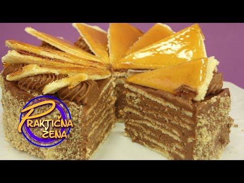 Praktična žena - Doboš torta