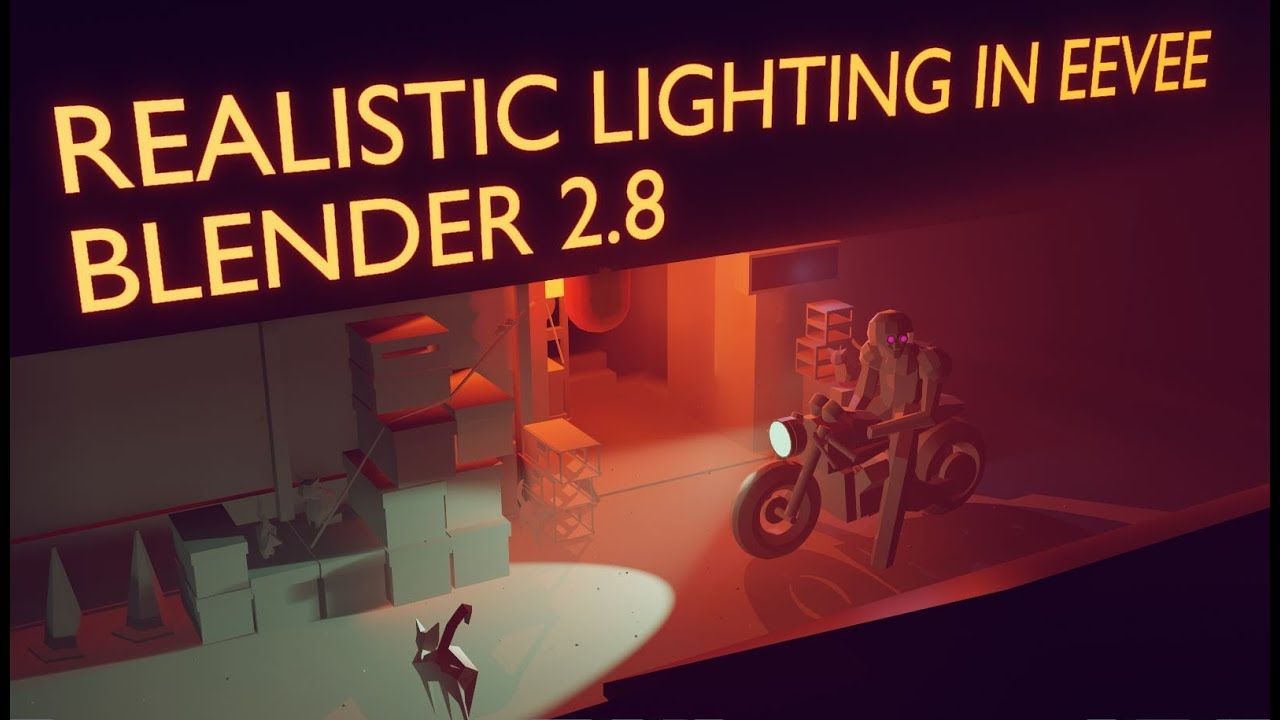 Blender 2 8 Realistic Lighting Setup | How to use Irradiance Volumes in  EEVEE