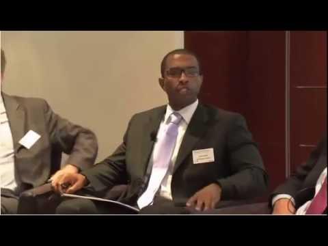 Justin Dargin at MENA Energy Forum in Dubai