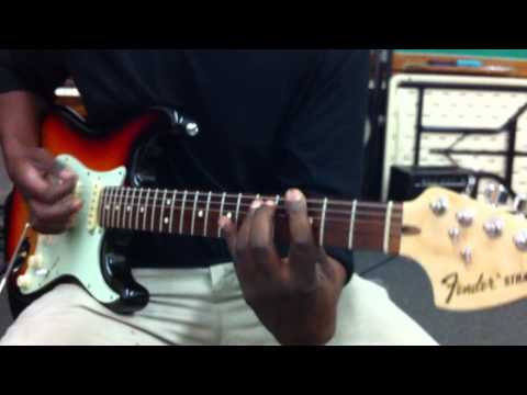 Highway to hell ( w/power chords )