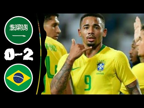 Saudi Arabia vs Brazil 0-2 All Goals & Extended Highlights 12-10-2018