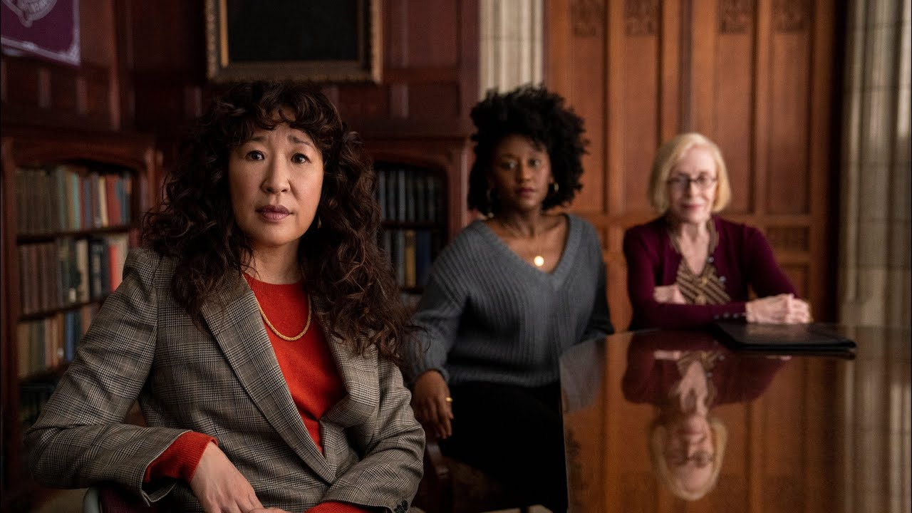 Review: Sandra Oh is a delight in Netflix's college-skewering ...