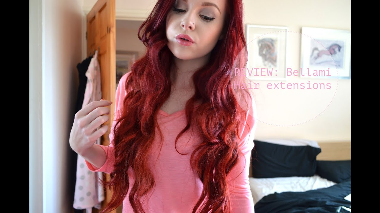 Review Bellami Hair Extensions Youtube