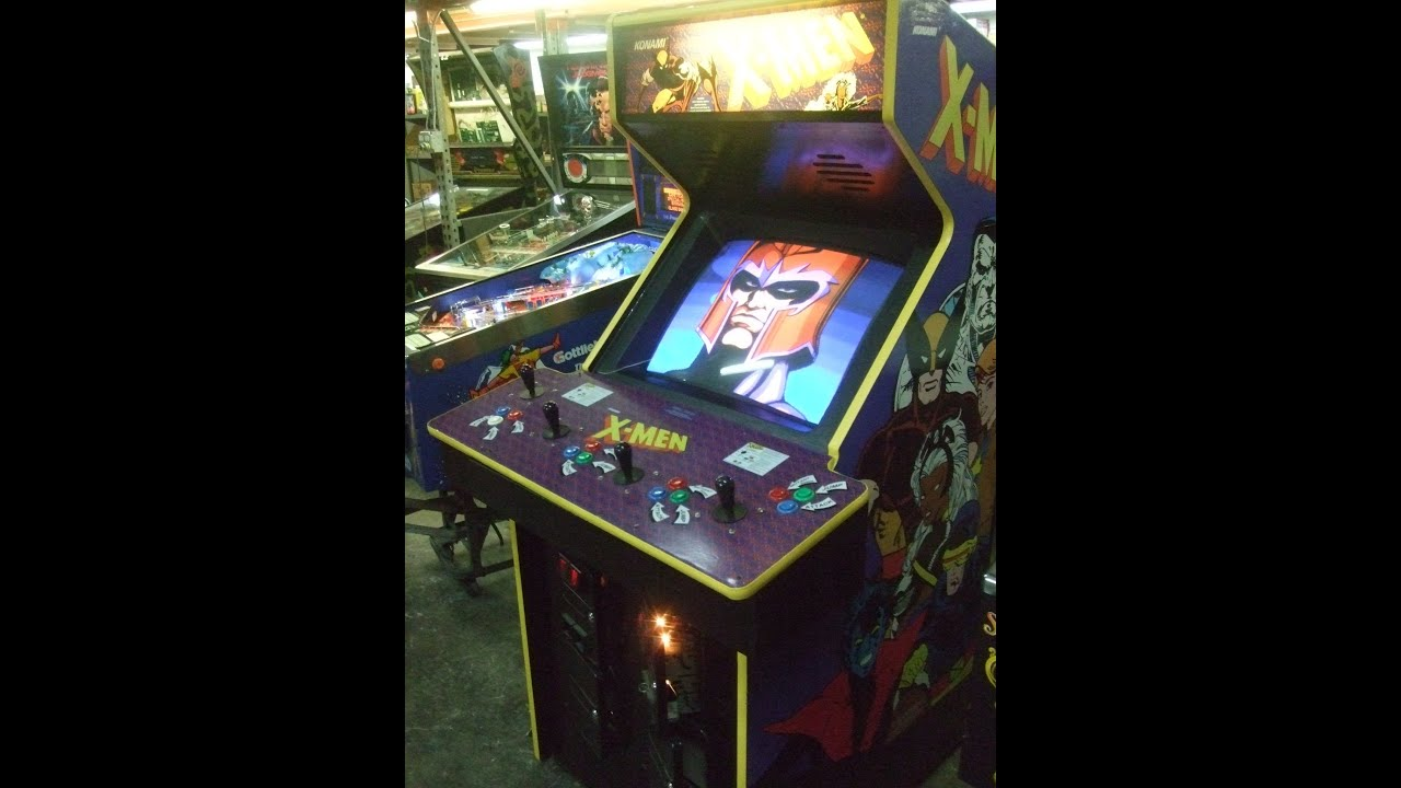 #443 Konami X MEN 4 player Arcade Video Game-rebuilt &lifier! TNT Amusements - YouTube & 443 Konami X MEN 4 player Arcade Video Game-rebuilt amplifier! TNT ...
