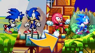 Sonic Mania : Sonic Advance 2 Stages Mod