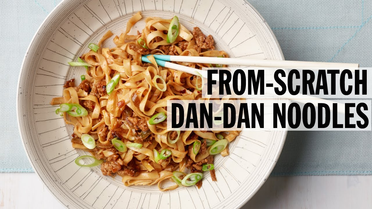 How To Make Authentic Dan Dan Noodles From Scratch Food Network