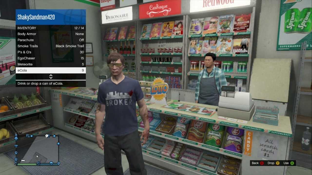 GTA V Online How To Buy And Eat Food On GTA V ONLINE - YouTube