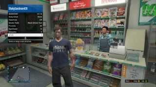GTA V Online How To Buy And Eat Food On GTA V ONLINE