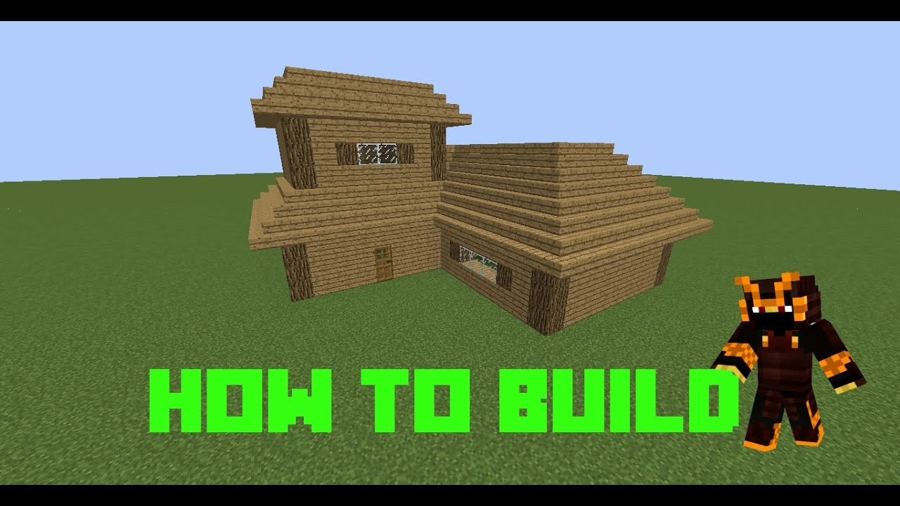 Minecraft how to build a quick and easy good looking for Best looking houses