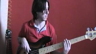 Deep Purple   Strange kind of woman   bass cover