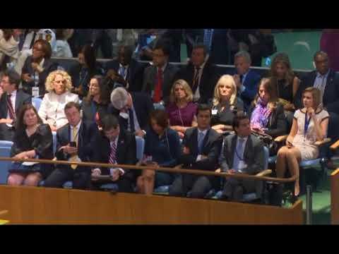 President Muhammadu Buhari Addresses UN General Assembly