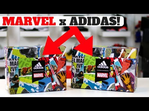 NEW MARVEL SNEAKERS AT ADIDAS EMPLOYEE STORE! WHICH DID I COP!?
