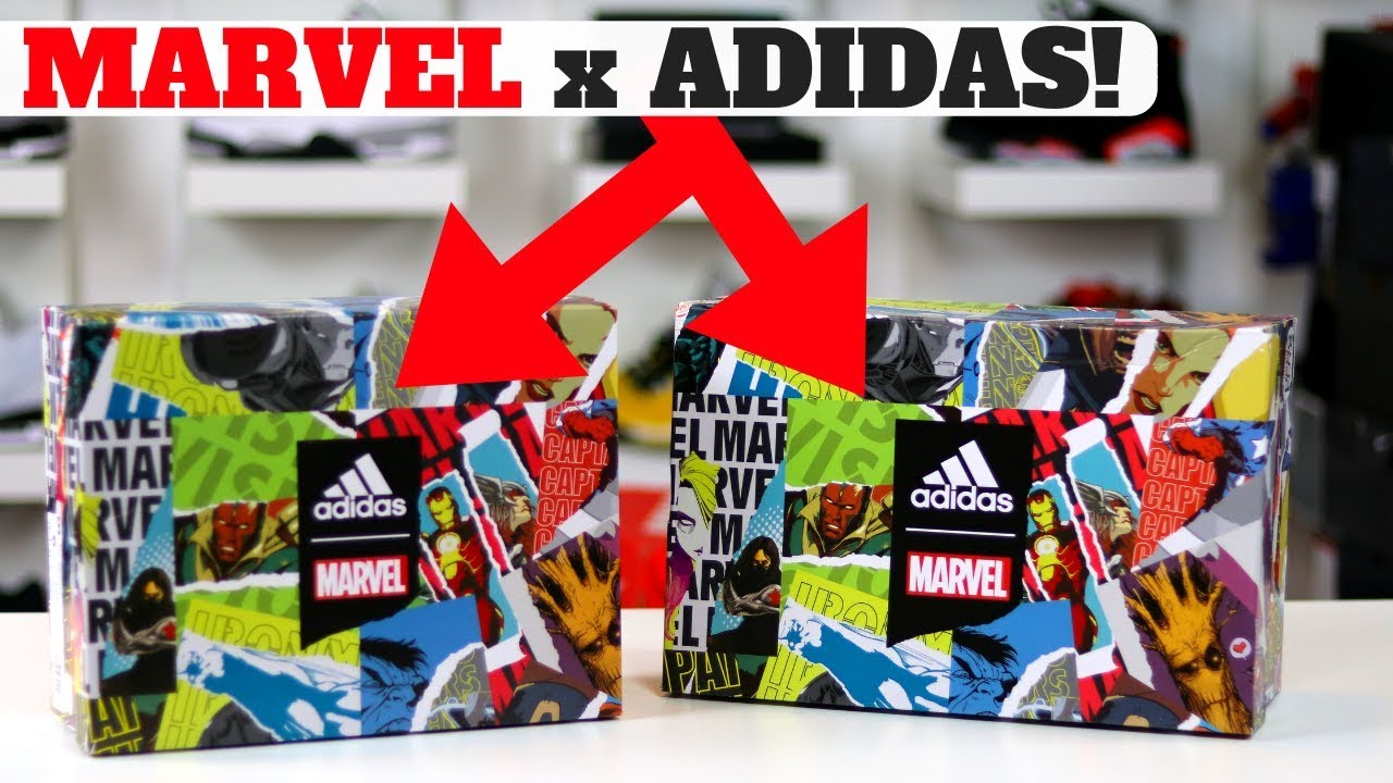 super popular 46dd2 84873 NEW MARVEL SNEAKERS AT ADIDAS EMPLOYEE STORE! WHICH DID I COP!?