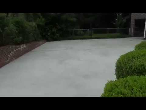 Resurfacing concrete driveway youtube resurfacing concrete driveway solutioingenieria Gallery