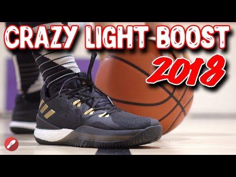Ahorro Repulsión Influencia  Adidas CrazyLight Boost 2018 Performance Overview! - YouTube