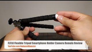 FLFLK Flexible Tripod Smartphone Holder Camera Remote Review