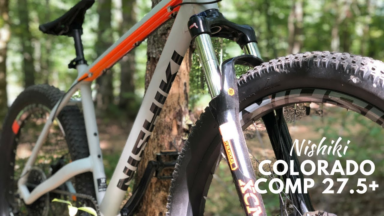 Frisk Nishiki Colorado Comp 27.5+ Mountain bike from DSG - YouTube FO-88