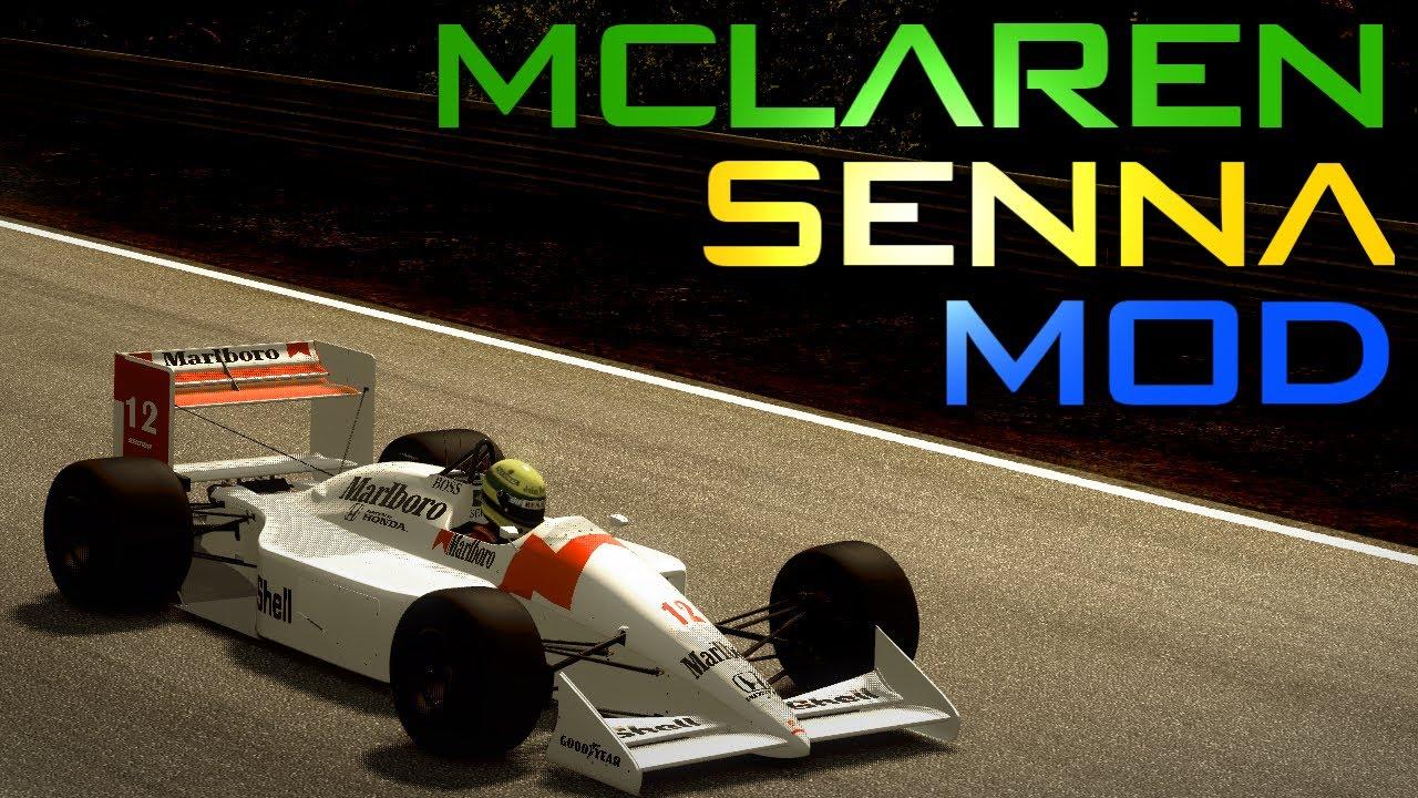 f1 2013 - senna mclaren mod (classic) - youtube