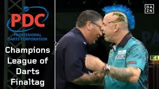 Schottisches Finale zwischen Gary Anderson und Peter Wright | Champions League of Darts | DAZN
