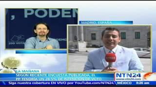 """Los partidos """"tendrán que negociar"""": analista sobre resultados de encuestas de elecciones en España"""