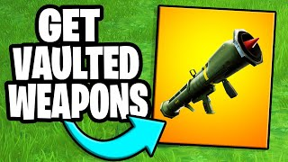 How to get the Guided Missile in Fortnite creative | Fortnite tutorial