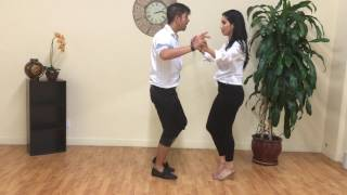 Bachata for Beginners Dance Lesson #11 Side Pass