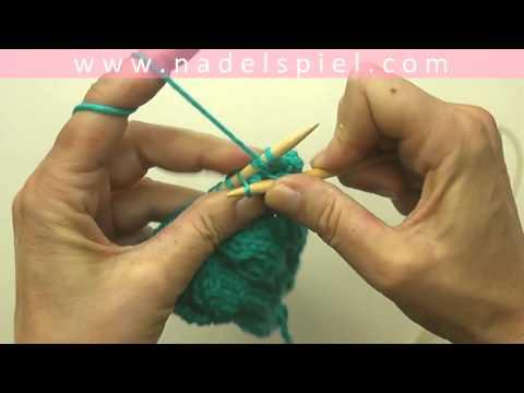 Stricken lernen mit eliZZZa #24 * Zopfmuster ohne Hilfsnadeln * Maschen zopfen