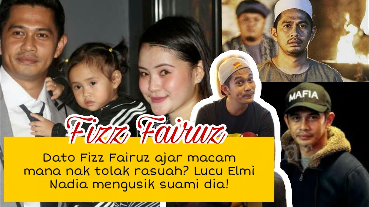 Dato Fisz Fairuz m3nganjing orang suka terima r4suah? kelakar Elmi Nadia kacau suami dia! terbahak..